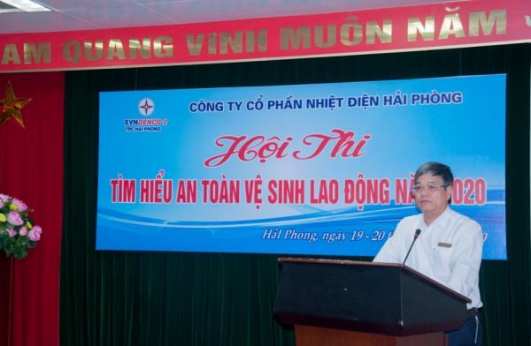 Ông Nguyễn Thường Quang - Tổng Giám đốc Công ty, Trưởng ban tổ chức Hội thi  phát biểu chỉ đạo tại Hội nghị.