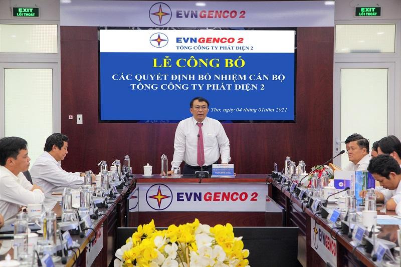 Ông Trần Phú Thái - Chủ tịch HĐTV phát biểu chỉ đạo tại buổi lễ - Ảnh: Minh Lương